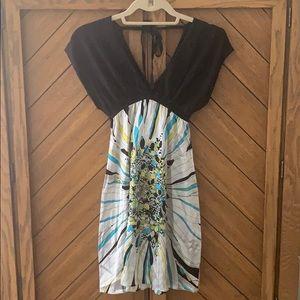 NWT Bebe Silk Dress